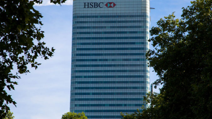 Fjárfestingarbanki HSBC London