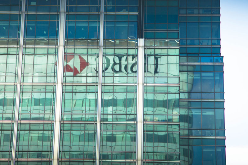 hsbc-hq-logo-reflection